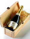 A bottle of Champagne